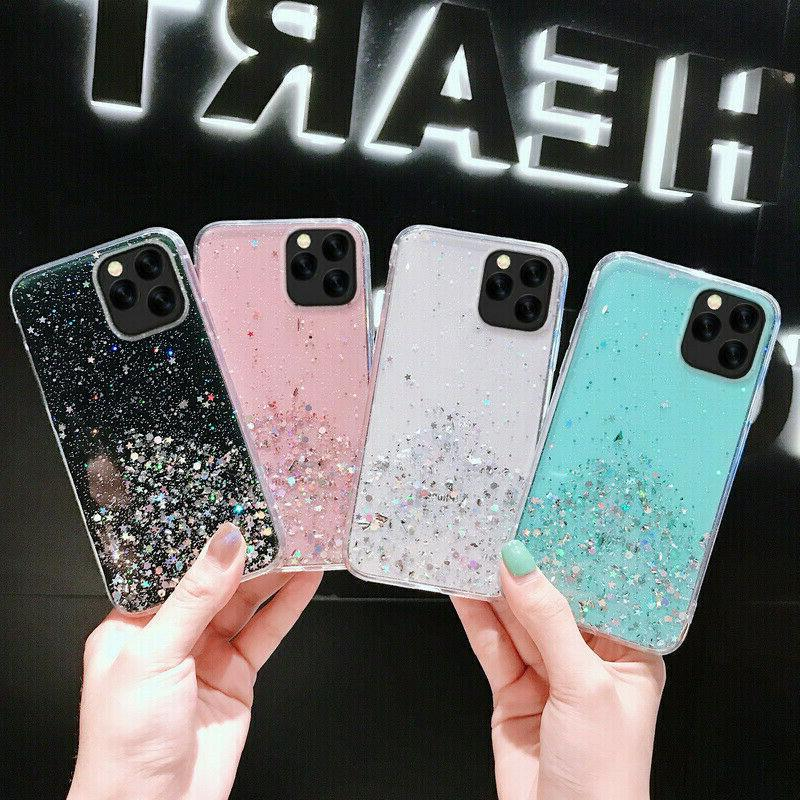 iPhone Pro 8 7 MAX Bling Glitter Quicksand Girl