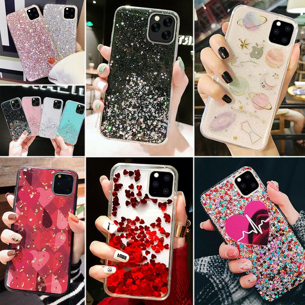 apple iphone 11 pro max bling glitter