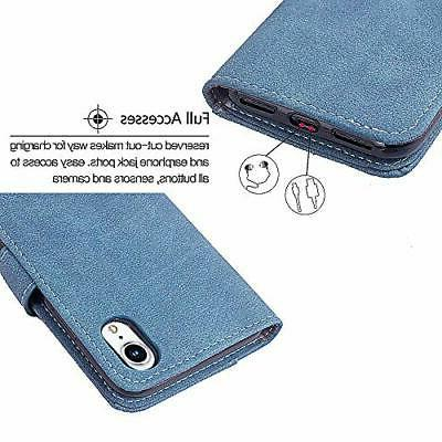 Asuwish Case i Phone Cases Wallet Leather Glass