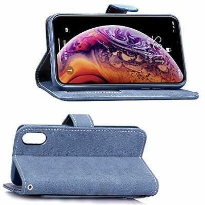 Asuwish iPhone Case i Phone Cases Wallet with Tempered