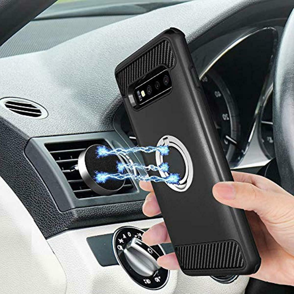 Asuwish Phone Case Samsung with Tempered Glass Protec