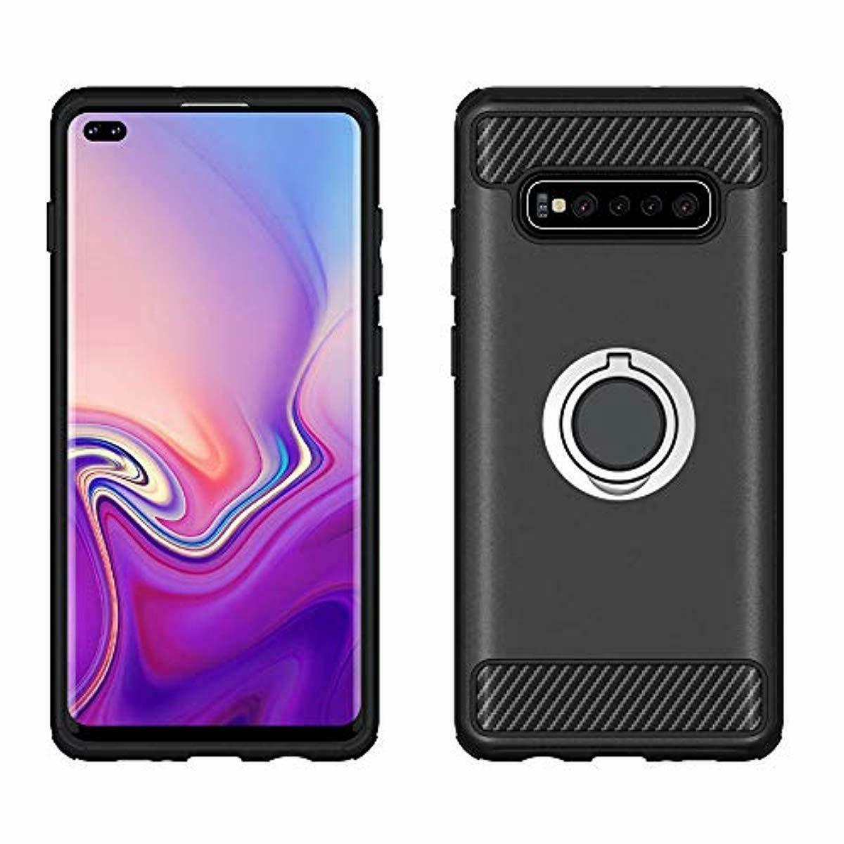 Asuwish Phone Case Samsung Galaxy with Glass Protec