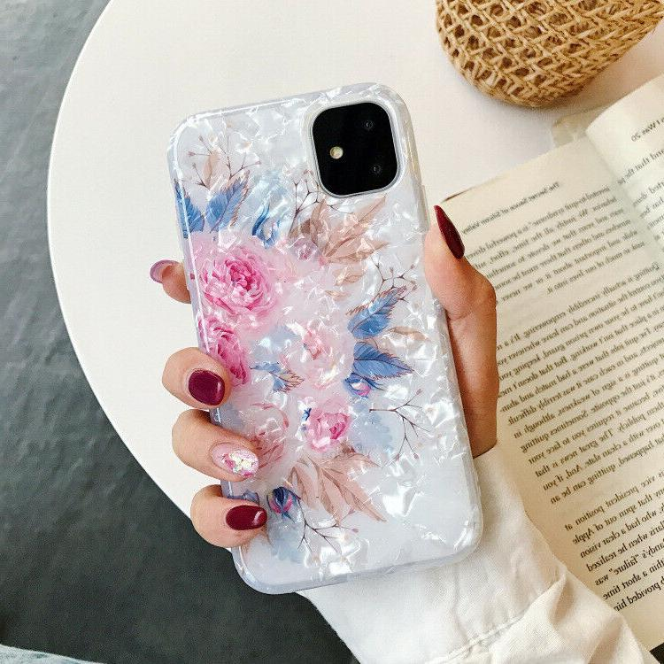 Bling Glitter Case Girls Phone Cover for iPhone 12 7 8 XS