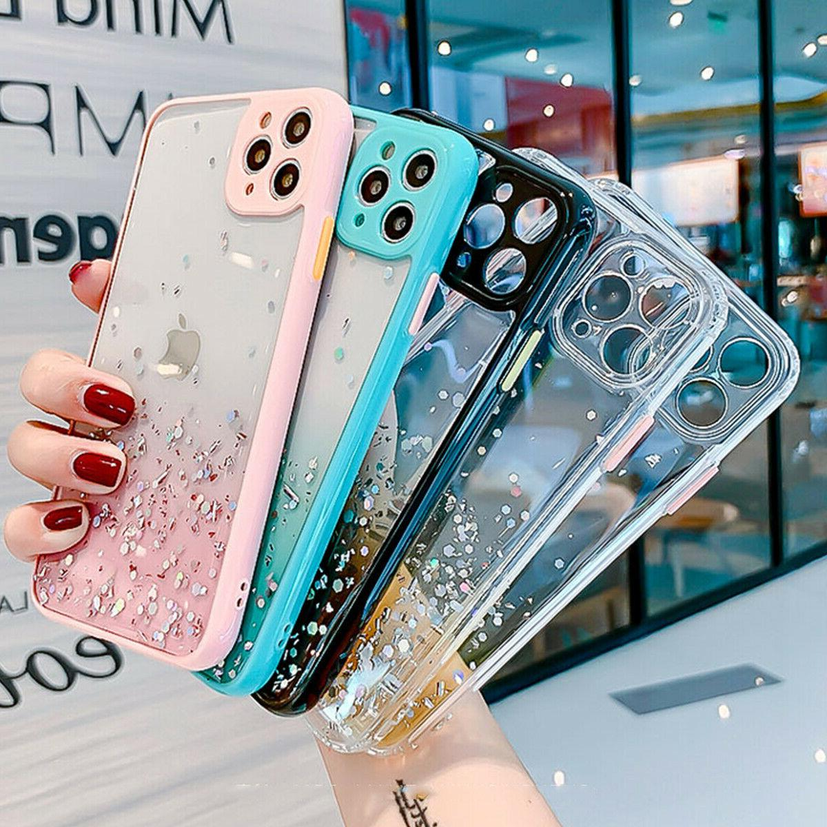 Bling Case Girls Phone iPhone 12 Max 11 7 8 XS