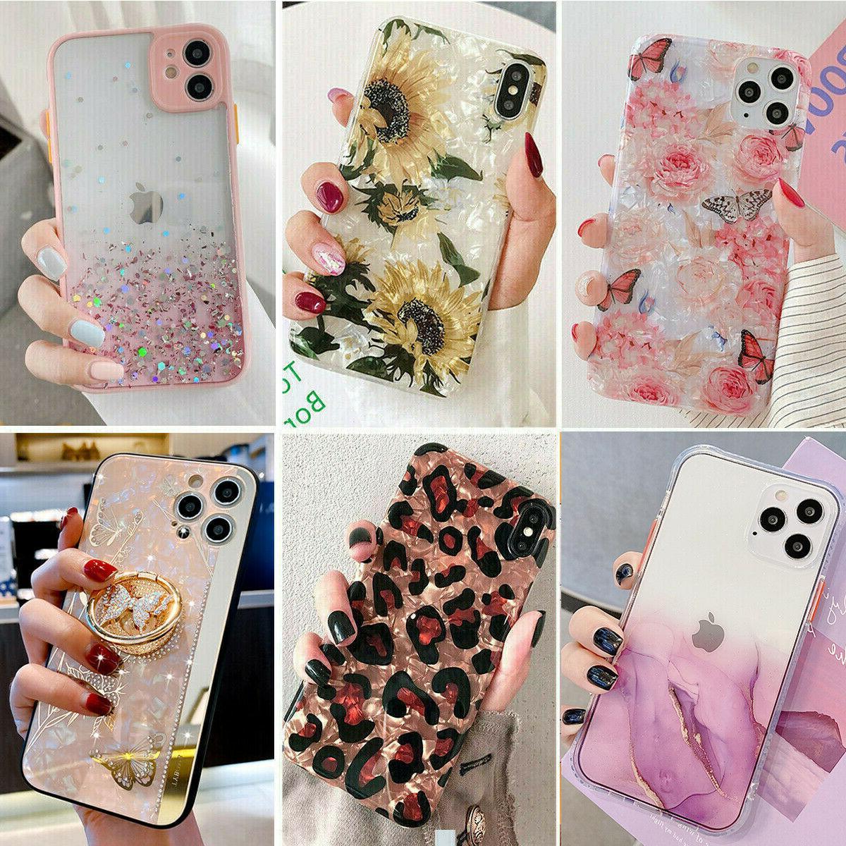 bling glitter case girls woman phone cover