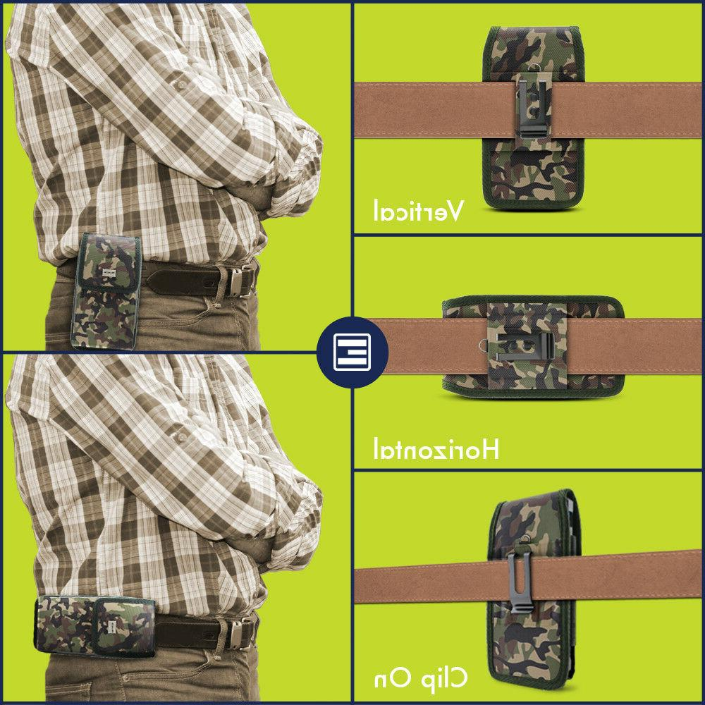 Camo Pouch w/ Belt Loop & Holster