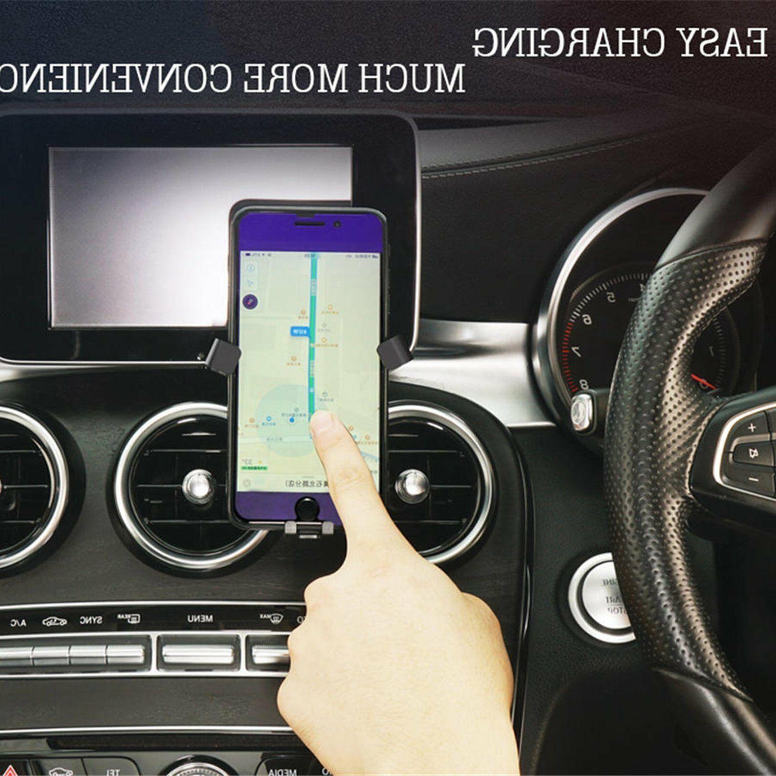 Car Dashboard Cell Phone Mercedes