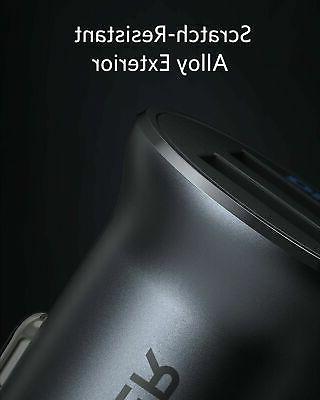 Anker 24W 4.8A Metal USB Adapter LED