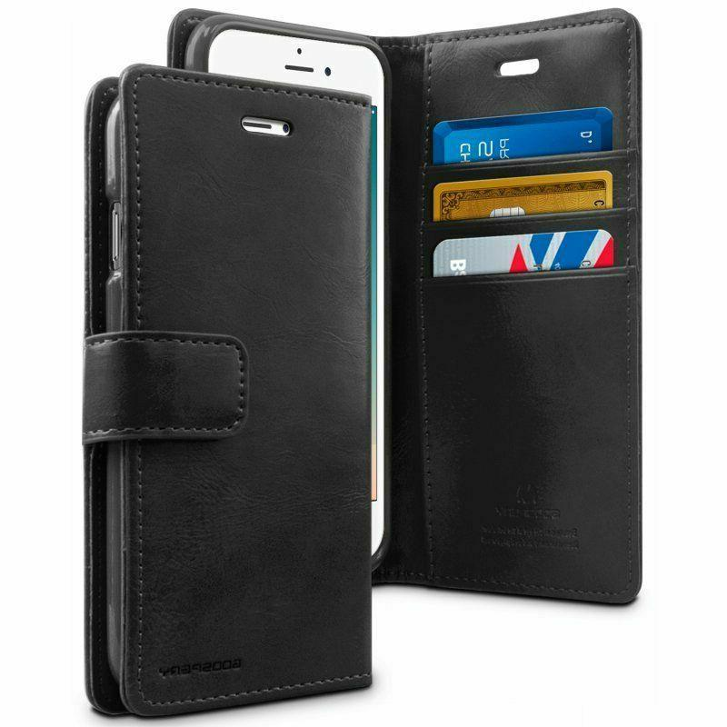 leather wallet phone cover case for iphone