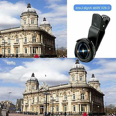 Cell Camera Kit, 0.45X Wide Angle + 15X Macro