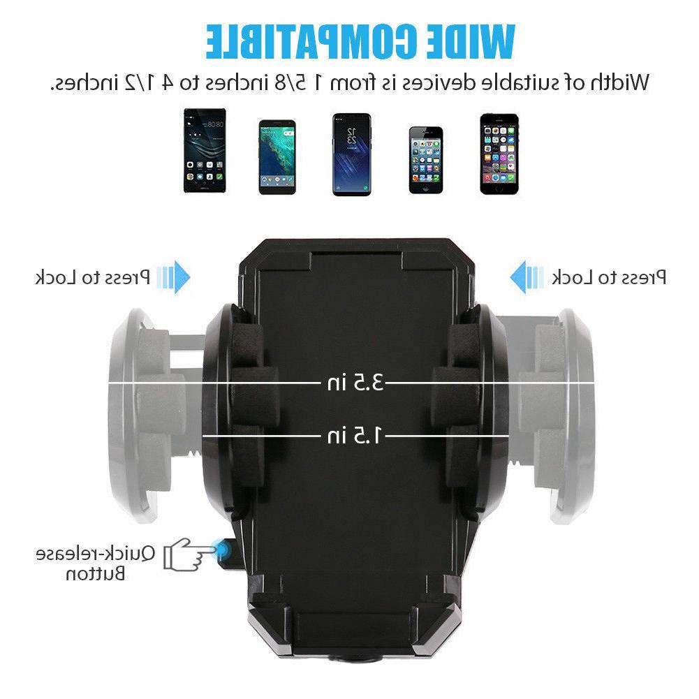 Cell Phone Car Holder Mount Stand For iphone Mobile PDA Accessory