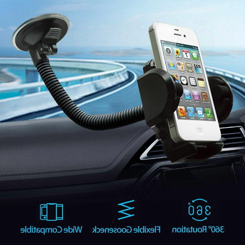 cell phone car windshield holder mount stand