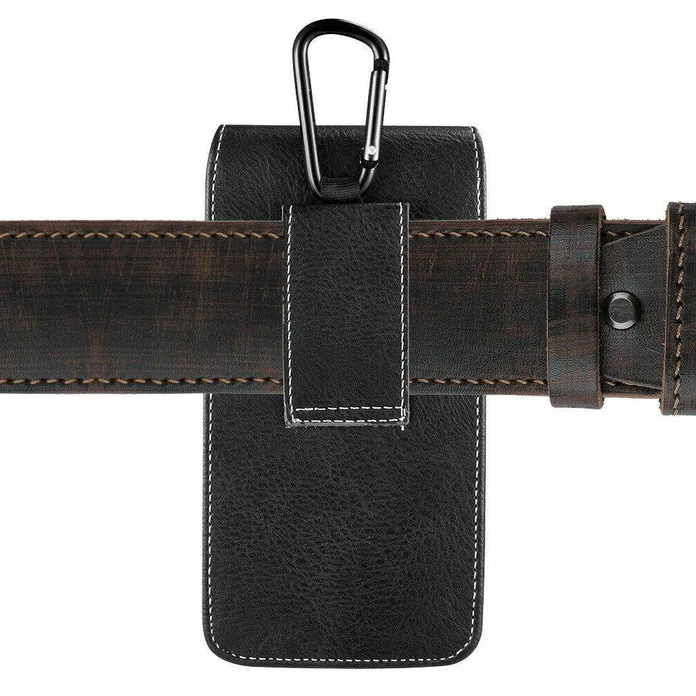 Universal Cell Phone Pouch w/ Belt Loop Clip Large Phones