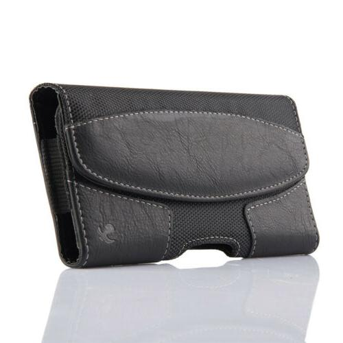 Cell Horizontal Leather Carrying Cover