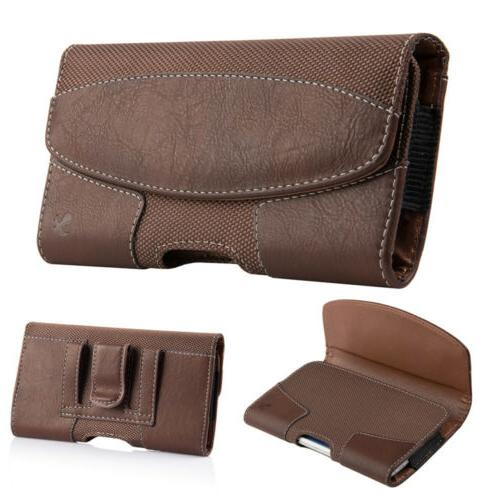 Cell Horizontal Leather Cover