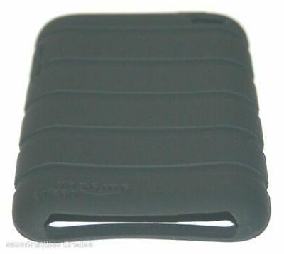 Amazon Basics Small Smartphone Case Rubber Black
