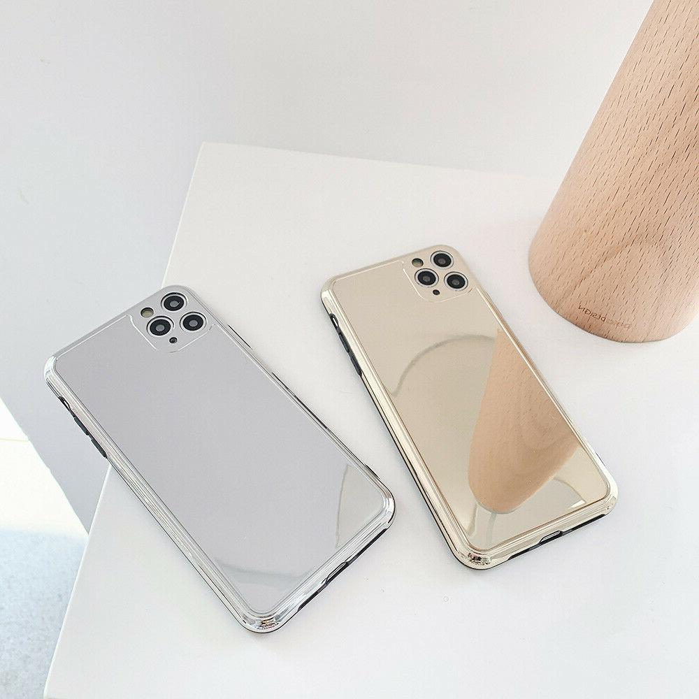 Chrome Gold For iPhone 7 8 Plus XR Xs Max