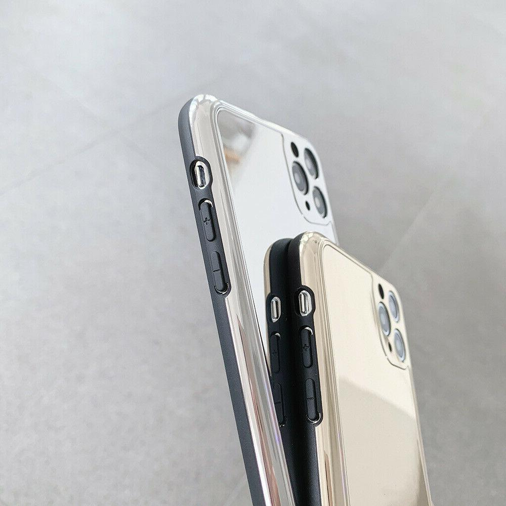 Chrome Gold Case For iPhone 7 XR 11 Pro Max