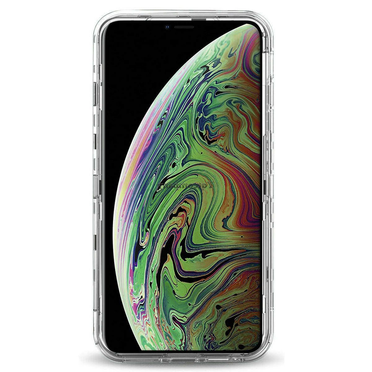 Clear iPhone XS Max X XS Duty Hard