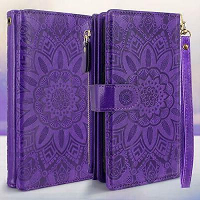 Harryshell Magnetic Wallet Leather Case Cash