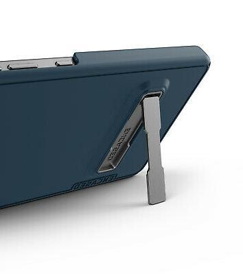 Encased Belt Cover Kickstand Blue