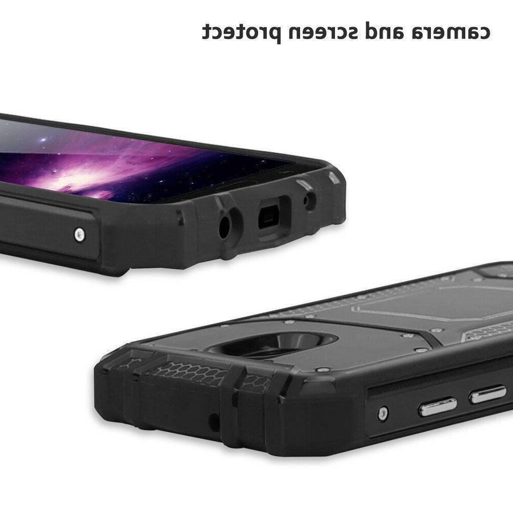 For J7 Crown/Star/V 2018 Case Metal Magnetic Support+Black