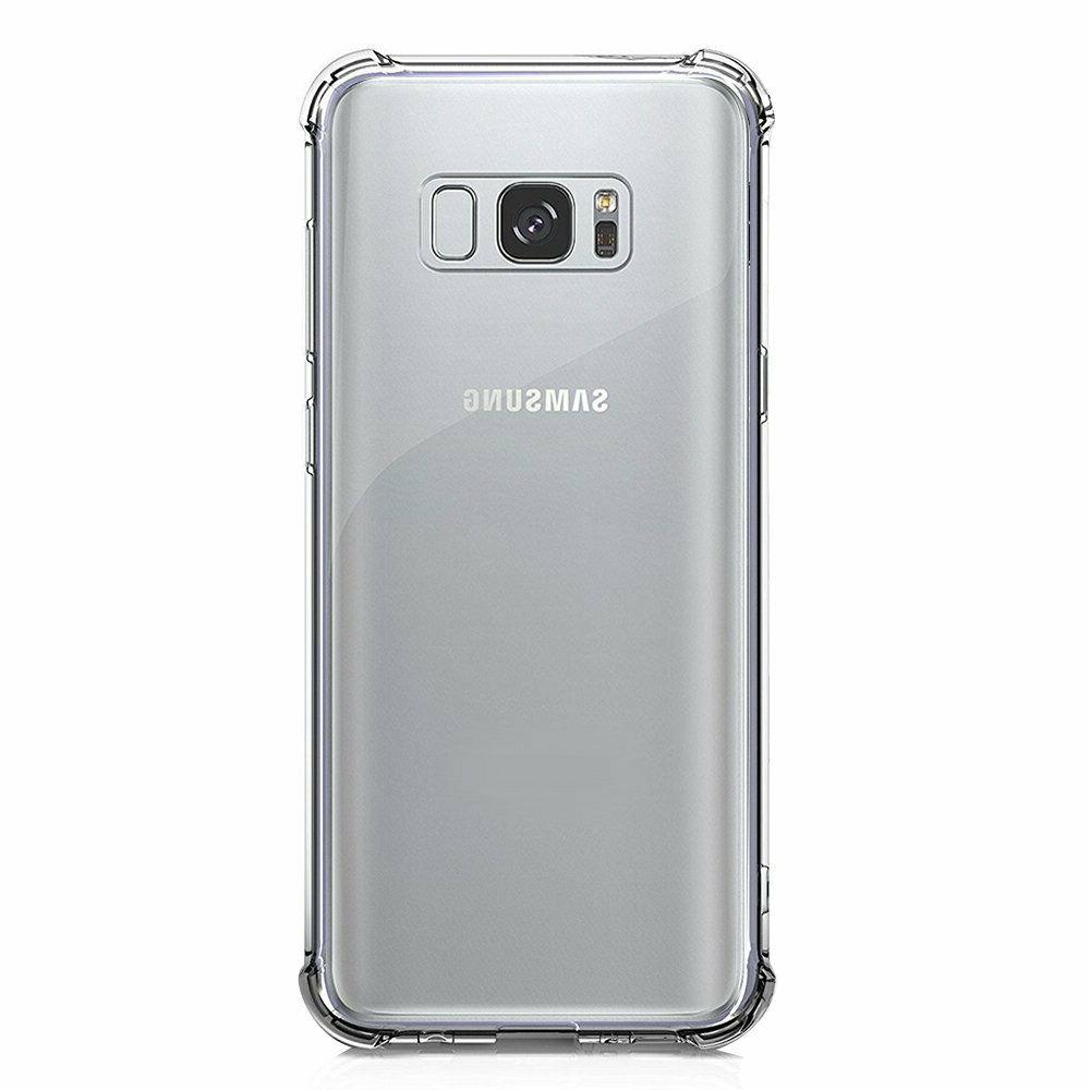 Galaxy S8 Crystal Clear Shockproof Protective Cell Phone