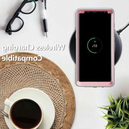 """Poetic Guardian Duty"""" Cover For Samsung Galaxy Pink"""