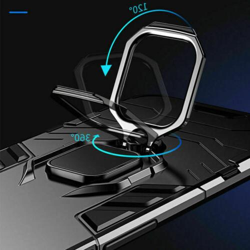For 12 Pro X XS Max 6 7 Hybrid Stand Holder Case