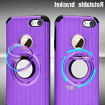 """IPhone 5S SE Protector,Atump Degree Ring """""""