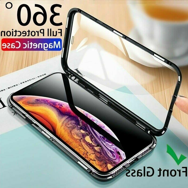 For iPhone XR Xs Max 7 6 8 Plus Magnetic Adsorption Double S