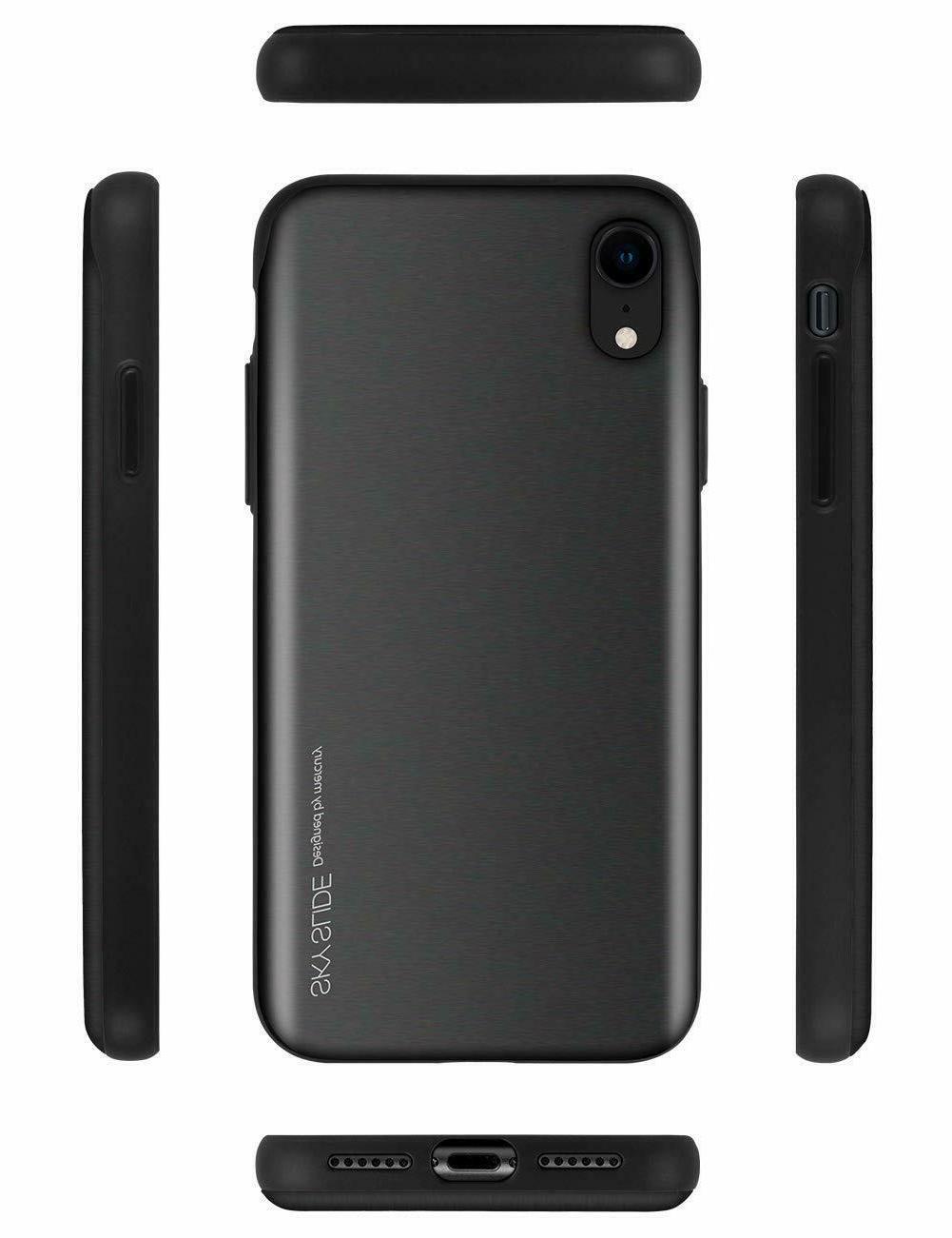 iPhone Xs Goospery Slide Protective Bumper Sliding Card
