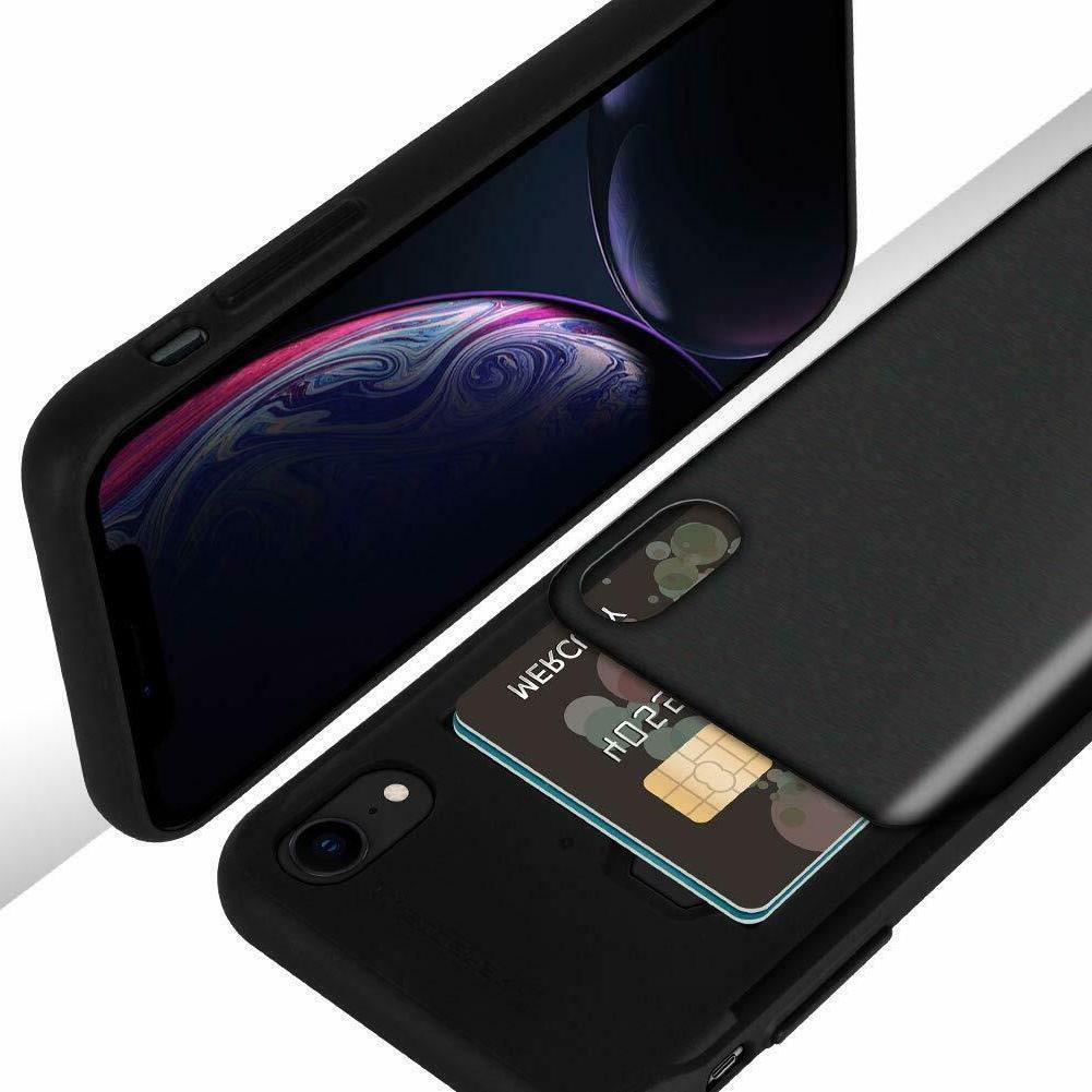 iPhone XR/ Xs Max Goospery Sky Bumper Card Case