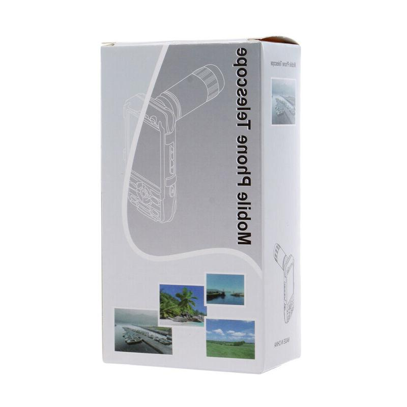 Lens Cell Phone Camera Lens 12x Telephoto Phone Attachments