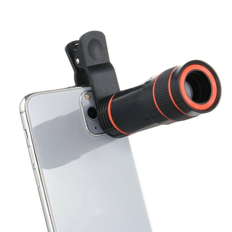 Lens Cell Camera Lens 12x Telephoto Phone Attachments