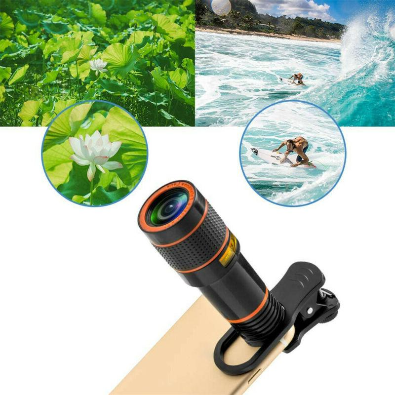 Cell Phone Telephoto Lens Cell Lens Kit Attachments