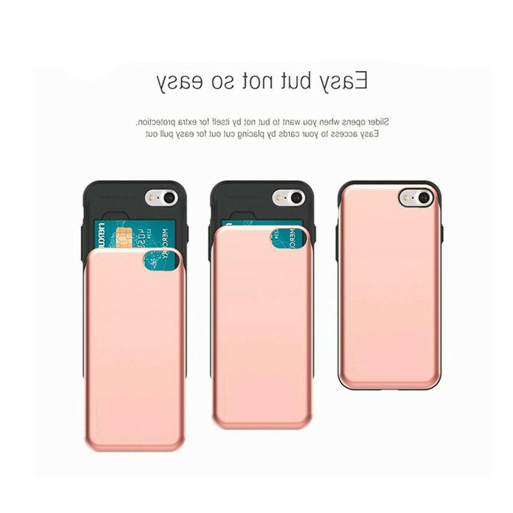 iPhone 6/7/8, X Bumper Cell Phone Case Card