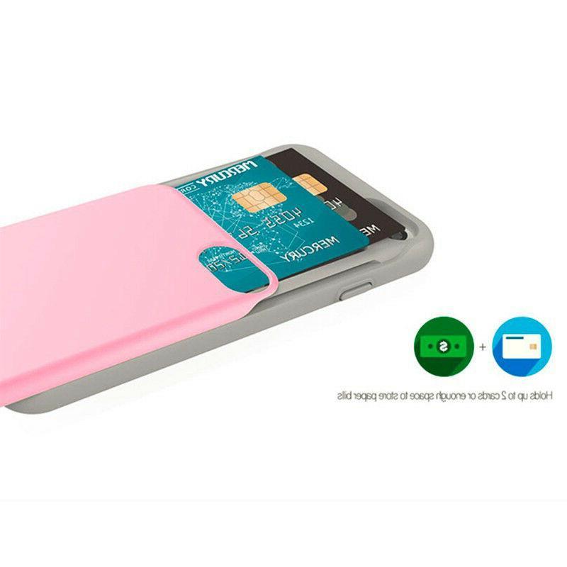 iPhone X Sky Slide Bumper Cell Card TPU