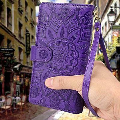 Harryshell Detachable Magnetic Wallet Case Cash Pocket with