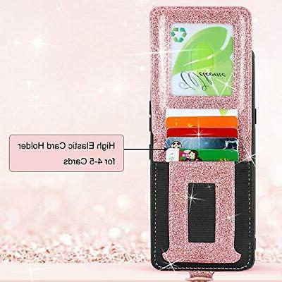 Harryshell LG Stylo Wallet Case Slim Zipper Zip & Card