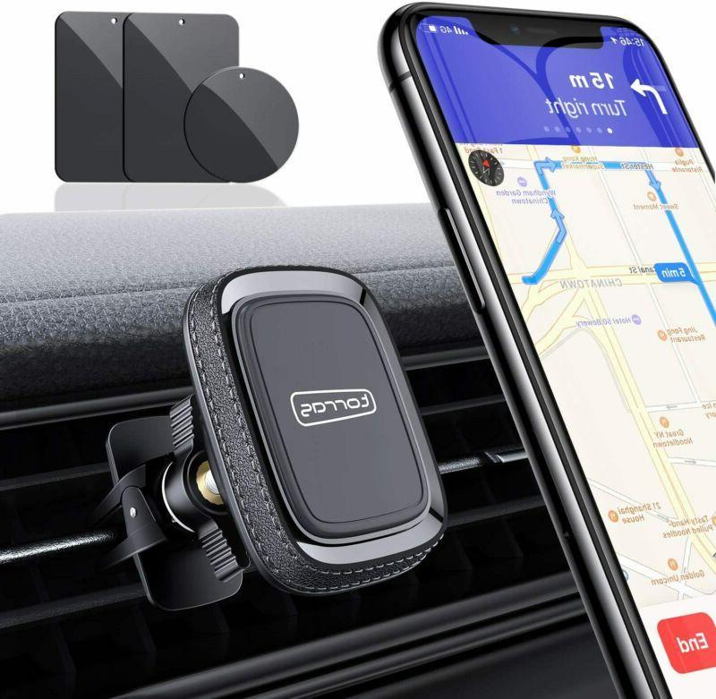 magnetic phone car mount anti shake air