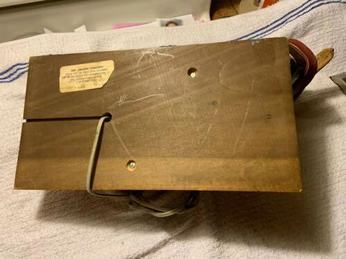 Mallard Landline Telephone. Wood Base.