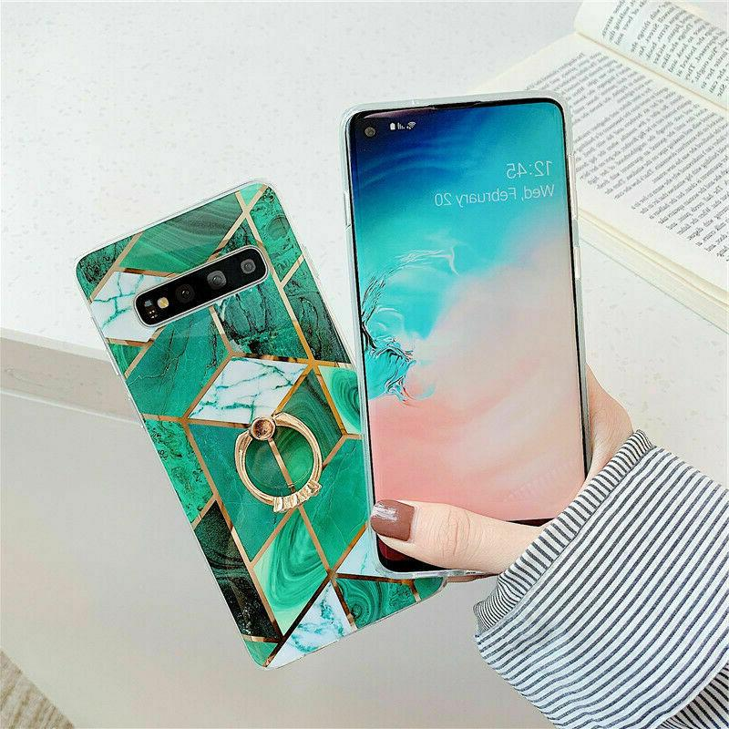Marble Case Cover For Samsung 10 S9 S8