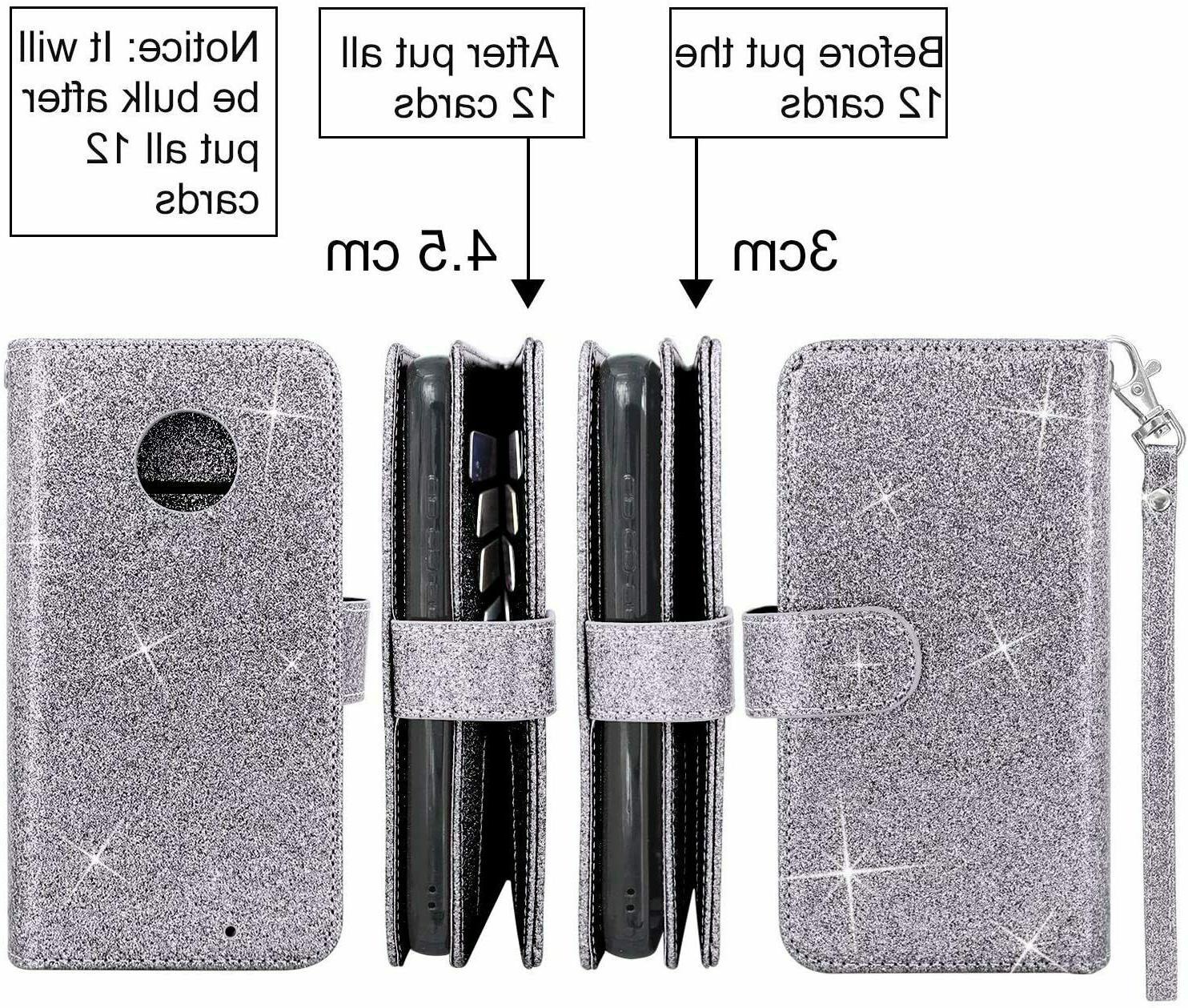 Moto 12 Card Detachable Magnetic