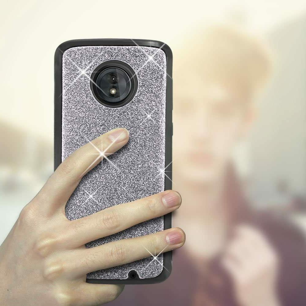 Moto G6 Case Harryshell 12 Card Slots Detachable Magnetic