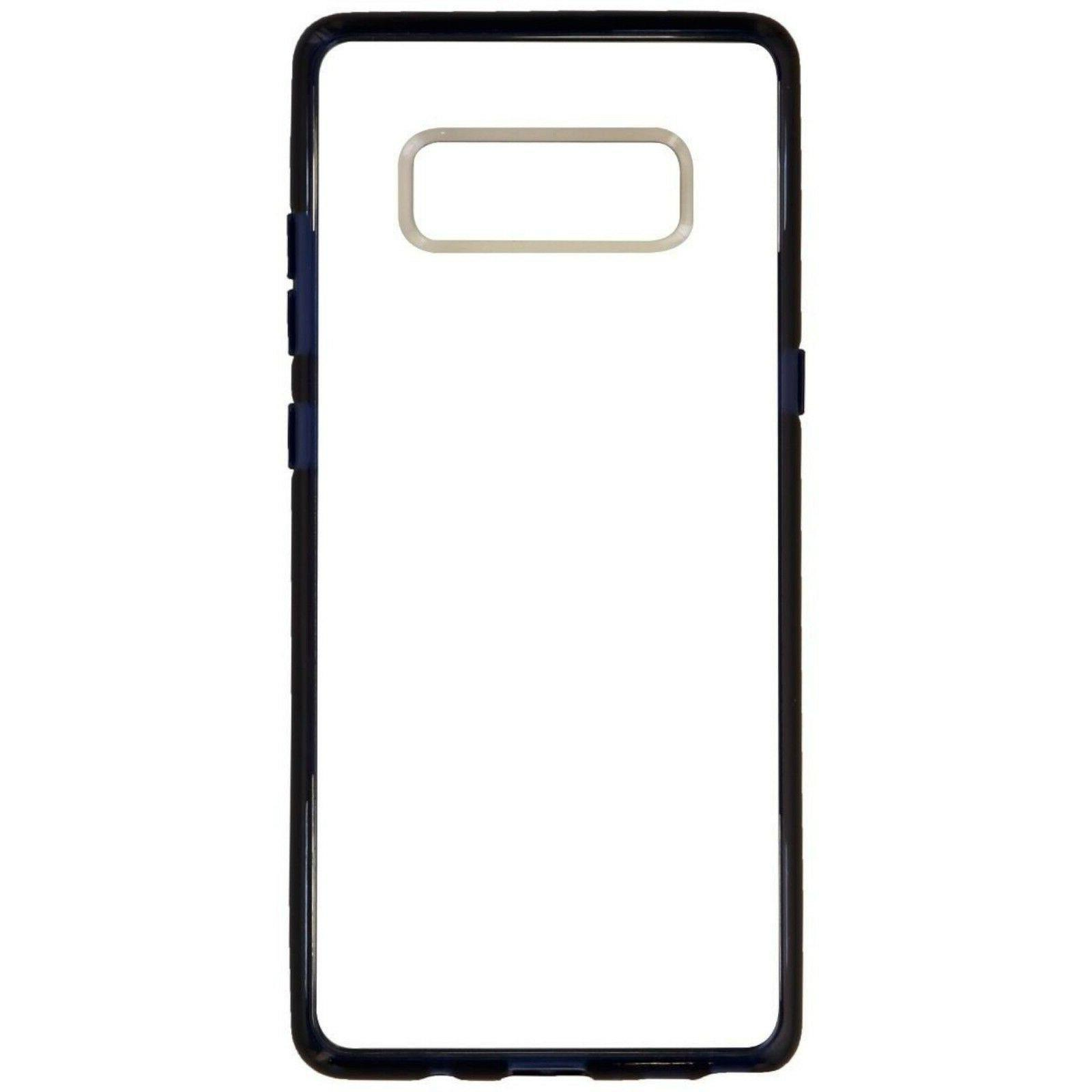 NEW Octane Pure Phone for Samsung Galaxy Note 8 NAVY w/Clear