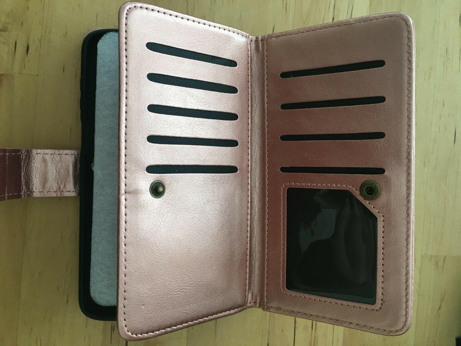 Njjex For Moto Z3 Wallet CasePU Card WEAR SEE PICS