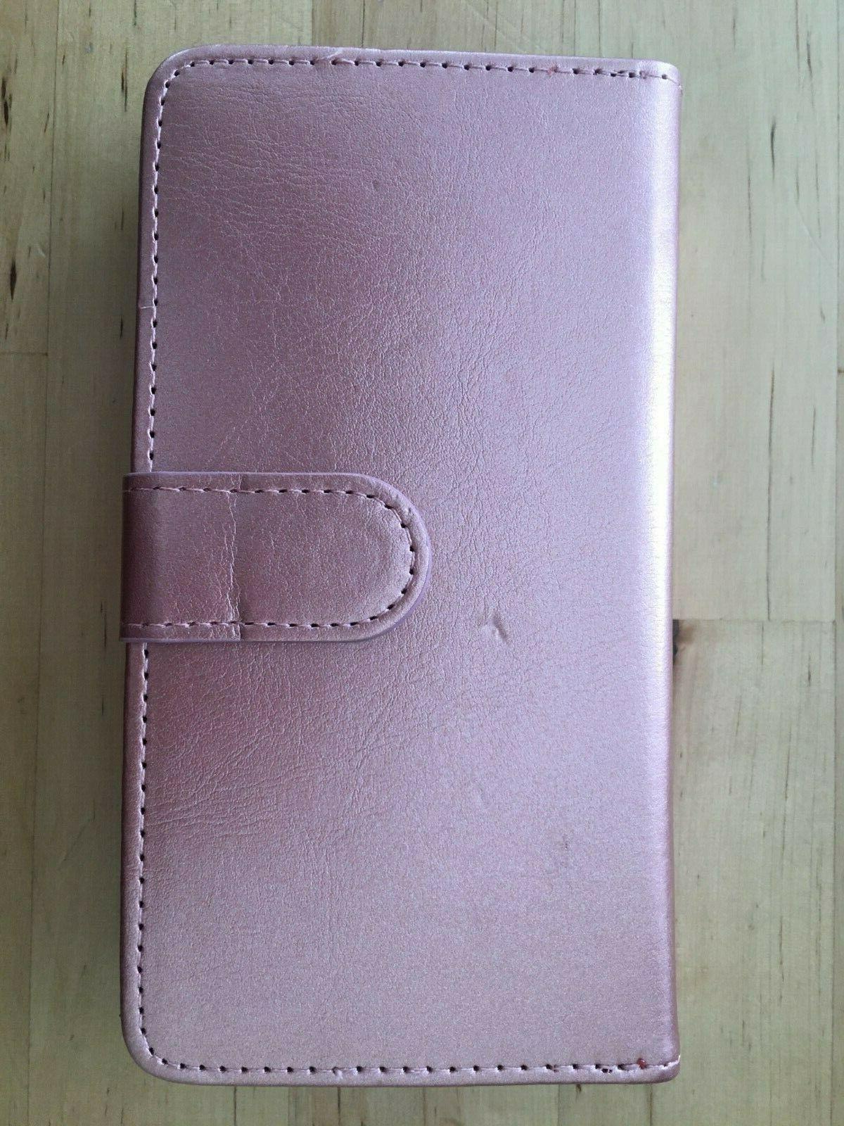 njjex for moto z3 wallet casepu leather