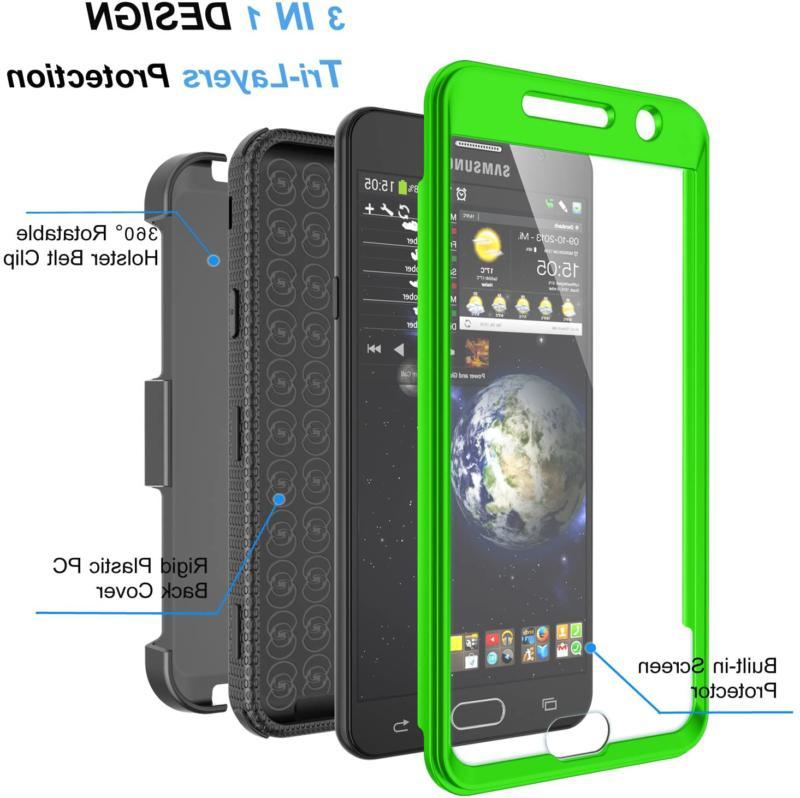 Njjex J7 Sky Pro Case,For J7 V/ J7 Perx / Prime Case,