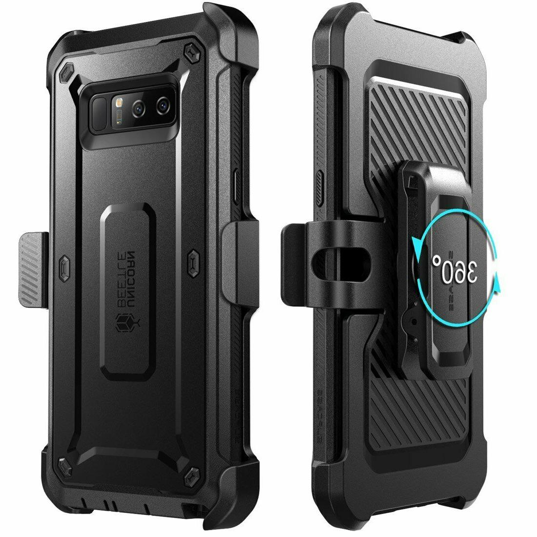 SUPCASE Samsung with Screen Cover BLACK